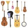 Струнные муз.инструменты (гитары, балалайки, ...)