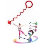 Нейроскакалка с извилистой ручкой, подсветка на колесе, развивающий тренажер для детей и взрослых!