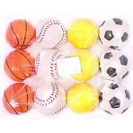 Мячики 6 см, цена указана за шт, продаются набором 12 шт