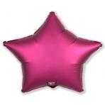 Шар Звезда Гранатовый (21 дюйм, в уп. 25 шт.) 751114