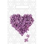 """Пакет полиэтиленовый """"Сиреневое сердце"""" (30см х 20см) н00136673"""