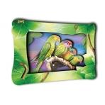 """Объемная картинка 25х19,5 """"Амазонские попугаи"""" Арт. К0007"""