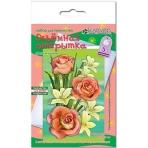 """Набор для изготовления открытки """"Розы и лилии"""""""