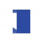 Папка с файлами inФОРМАТ А5 20 файлов синий пластик 550 мкм карман