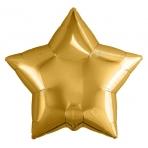 Шар Agura Звезда Золото (9д, 23см, 25шт, без клапана) 755723 цена за 1шт