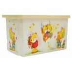 "NN Детский ящик для хранения игрушек 17 л ""X-BOX"" ""Bears""  (Арт. LA1023МИШ-НК/IR)"