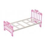 Кроватка розовая без п/п