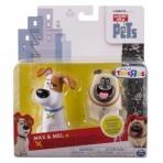 Secret Life of Pets Виниловые фигурки Макса и Snowball