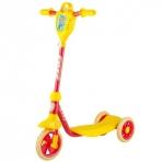 Самокат городской Foxx Baby с пластиковой платформой и EVA колесами 115мм (и.упак), желто-красный #1