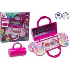 Набор детской декоративной косметики (тени, лак для ногтей, блеск для губ), TM LAPULLI KIDS