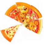 """Сквиш """"Пицца"""". С магнитом. В пакете. В ассортименте. Длина до 9 см."""