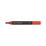Маркер Hatber для магнитно-маркерных досок круглый корпус закругленный пишущий узел 2мм Красный