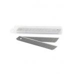 ЛЕЗВИЯ для канцелярских ножей  Berlingo 9 мм, в пластиковом боксе (упаковка европодвес)