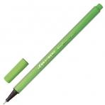 Ручка капиллярная BRAUBERG Aero, трехгранная, металлический наконечник, 0,4мм, светло-зеленая,142250