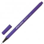 Ручка капиллярная BRAUBERG Aero, трехгранная, металлический наконечник, 0,4мм, фиолетовая, 142255