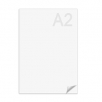 Ватман А2 (594 х 420 мм), 1 лист, плотность 200 г/м2, ГОЗНАК С-Пб, водяной знак