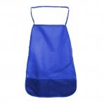 Фартук д/труда однотонный 49х39 см А4 ткань синий 3+