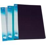 Папка с 10 файлами пластиковая 0,6мм цветная; ассорти 5 цветов; формат А4.