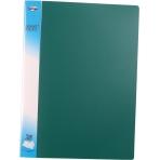 Папка с 20 файлами пластиковая 0,6мм цветная; ассорти 5 цветов; формат А4.