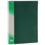 Папка с 40 файлами пластиковая 0,6мм цветная; ассорти 5 цветов; формат А4.