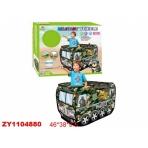 """Домик-палатка детская """"Машинка"""" (шарики (50 шт.) в комплекте), в коробке"""