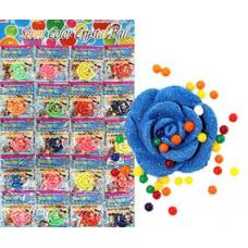 Вырасти розу + шарики, до 3 см, Li080, цена указана за 1 шт, продаются листом 20 шт